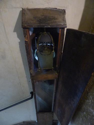 Canons Ashby House - Servants' Hall - servant's bell
