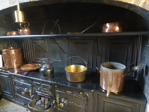 Canons Ashby House - Great Kitchen - Stove
