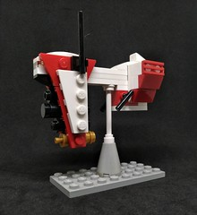 Artasid's Nebulon B (Vitor O S Faria) Tags: mfz mf0 mobileframezero interceptorbit lego ship starship spaceship io frigate starwars nebulonb