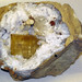 Quartz-barite geode (Harrodsburg Formation or Ramp Creek Formation, Middle Mississippian; Valley Mission Geode District, Monroe County, Indiana, USA) 3