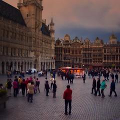 Grand Place (Jim Nix / Nomadic Pursuits) Tags: jimnix nomadicpursuits photography travel grandplace brussels belgium europe townsquare landmark luminar