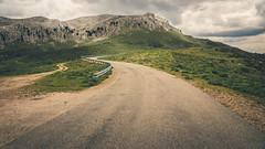 Mountain Road, Sardinia (David Lea Kenney) Tags: mountain mountains landscape mountainscape clouds stormy storm dark travel explore sardinia sardegna italy italia tree trees rocky rock