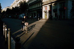 Biking of a ray of light (titan3025) Tags: leica leicam6 m6 film kodak filmisnotdead grainisgood analog photography analogphotography france cote d azur portra 400