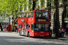 DLP216 T216XBV (PD3.) Tags: london bus buses england uk sight seeing sightseeing open top topper topless tour tourbus daf plaxton president dlp216 dlp 216 t216xbv t216 xbv city citytour julia