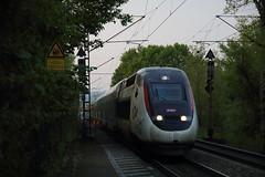 TGV 4707 Gundelfingen, Freiburg, Germany (Paul Emma) Tags: germany freiburg railway railroad electrictrain train gundelfingen tgv 4707