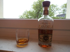 One Shot of Plantation Barbados Rum, 40% (one_shot_wonder) Tags: window sill windowsill rum barbados plantation amber clear 40plus france ferrand maisonferrand doubleaged booze alcohol drink shot xo extraold