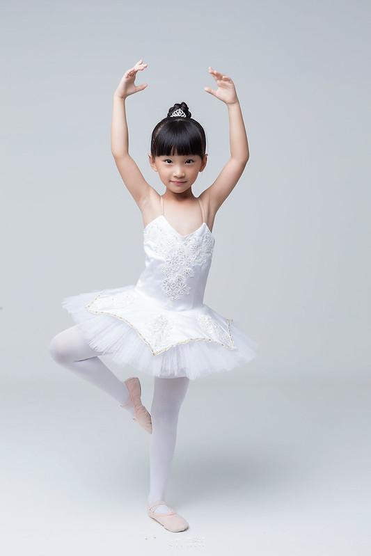 小女孩兒的芭蕾夢 | 台南舞蹈教室 迪迪舞蹈 | 兒童寫真 2