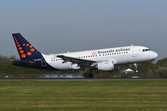 OO-SSB.EGCC190419 (MarkP51) Tags: oossb airbus a319111 a319 brusselsairlines sn bel manchester ringway airport man egcc england airliner aircraft airplane plane image markp51 nikon d500 nikond500 nikonafp70300fx sunshine sunny