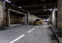 Battery Street Tunnel hole in the wall (WSDOT) Tags: seattle gp construction wsdot alaskan way viaduct replacement battery street tunnel decommissioning