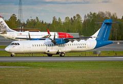 EI-SLZ (Skidmarks_1) Tags: eislz aslairlines atr72 cargo freighter engm norway osl oslogardermoenairport aviation aircraft airport airliners