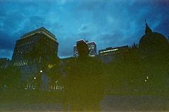 (Just A Stray Cat) Tags: centuria 800 expired konica minolta grain night dark street urban nikon n2020 f501 montreal canada quebec 35 mm 35mm film analog analogue mju ii olympus stylus epic mjuii