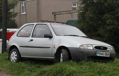 P946 OBA (Nivek.Old.Gold) Tags: 1997 ford fiesta lx 3door 1753cc diesel