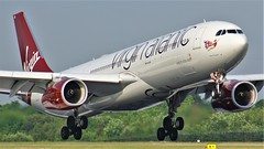 G-VWAG (AnDyMHoLdEn) Tags: virgin virginatlantic a330 egcc airport manchester manchesterairport 05r