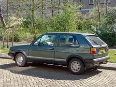 Den Haag, april 2019 (Okke Groot - in tekst en beeld) Tags: denhaag sidecode7 corruyslaan volkswagen vwgolfgtd 85hns7 nederland