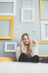 Sunshine | 4 (_ALBX_) Tags: indoor naturallight woman girl creative bedroom portrait photography photographer sigma 30mm albxphoto albx art canon canon80d