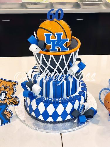 Fine Univ Kentucky Basketball Birthday Cake A Photo On Flickriver Funny Birthday Cards Online Inifofree Goldxyz