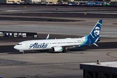 Alaska Airlines Boeing 737 N288AK-0370 (rob-the-org) Tags: kphx phx skyharborinternational phoenixaz alaskaairlines boeing 737 n288ak 737900