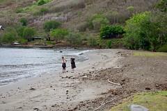 Stroll on the beach (jjknitis) Tags: 2019 beach cruise eurodam hollandamerica island march30 marquesas nukuhiva polynesia sand southpacific