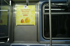 Ugly produce (streetravioli) Tags: street photography chicago cta train subway metro ugly produce nice price imperfect