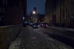 New-York, february 2010. (Le Cercle Rouge) Tags: flashback newyork ny unitedstatesofamerica usa soho darkness light night nuit streets rues nocturne snow neige