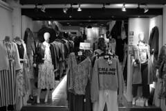 Call me mañana (streetravioli) Tags: street photography japan japanese clothing store osaka