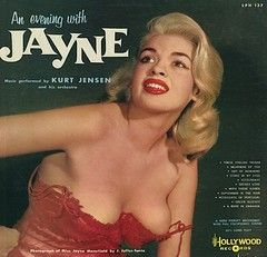 Jayne Mansfield - An Evening With Jayne (poedie1984) Tags: jayne mansfield vera palmer blonde old hollywood bombshell vintage babe pin up actress beautiful model beauty hot woman classic sex symbol movie movies star glamour icon sexy cute body bomb 50s 60s famous film celebrities pink filmstar filmster diva superstar amazing wonderful american goddess mannequin black white blond sweater cine cinema screen gorgeous legendary iconic an evening with music by kurt jensen his orchestra color colors muziek lp vinyl lippenstift lipstick busty boobs décolleté girl