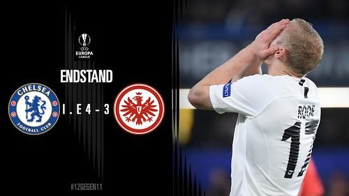 Eintracht Frankfurt - Europa League semi-final 2nd leg v Chelsea - The despair of losing the penalty shoot-out