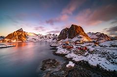 Arctic Sunrise II Hamnøy- Norway (CK NG (choookia)) Tags: arcticsunrise arctic sunrise hamnøy reine norway redcabin sonya7rii laowa12mmf28