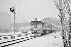Spring day... (N.Batkhurel) Tags: season spring snow railway railfan 24120mm 2zagal passengertrain trains transport trainspotting ubtz ulaanbaatar ngc nikon nikond5200 nikkor mongolia monrailpic