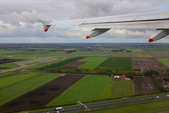Leaving Amsterdam, October 20th 2015 (Southsea_Matt) Tags: gdbcg britishairways oneworld airbus a319131 canon 60d october 2015 autumn aviation windowseat windowview ba2761 thenetherlands holland amsterdam schiphol eham ams