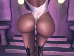 booty friday (linnijigulina) Tags: booty tan tattoo out feet top blue belleza blonde blondie bodysuit bun bed secondlife selfie second skinny sl shape sun serious ass inspo mesh messy pose hips legs foxcity filter fun life
