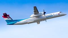 De Havilland Canada DHC-8-402Q LX-LGN Luxair (William Musculus) Tags: plane spotting airplane aviation airport paris charles de gaulle roissy lfpg cdg roissyenfrance lxlgn luxair havilland canada dhc8402q dash 8 lg lgl q400 dhc8q400 dash8q400 dhc8400 bombardier william musculus