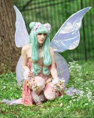 Primera (S1Price Lightworks) Tags: primera magic knight ray earth fairy cosplayer girl cosplays wings flowers nature 35mm anime manga otaku canon eos r