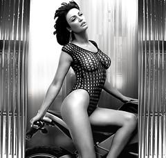 (horlo) Tags: bleonaqereti bw blackandwhite vintage noiretblanc nb wallpaper fonddécran glamour monochrome woman femme portrait collage