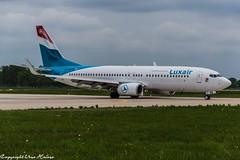 Luxair LX-LBB (U. Heinze) Tags: aircraft airlines airways airplane planespotting plane flugzeug haj hannoverlangenhagenairporthaj eddv nikon d610 nikon28300mm