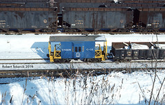Transfer Caboose (NSHorseheadSD70) Tags: robert tokarcik trains locomotives railways railroads union pennsylvania pittsburgh duquesne transfer caboose