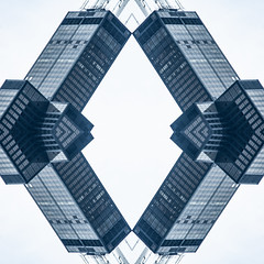 (jfre81) Tags: chicago sears willis tower mirrored folded reversed kaleidoscope urban city skyscraper landmark icon james fremont photography jfre81 canon rebel xs eos