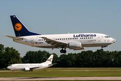 D-ABJH (PlanePixNase) Tags: aircraft airport planespotting haj eddv hannover langenhagen lufthansa boeing 737