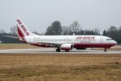 D-ABBE (PlanePixNase) Tags: aircraft airport planespotting haj eddv hannover langenhagen airberlin boeing 737