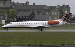 Loganair Embraer ERJ-135ER G-SAJT @ Isle of Man Airport (EGNS/IOM) (Joshua_Risker) Tags: isle man airport egns iom ronaldsway plane planes aviation spotting planespotting avgeek aircraft embraer loganair emb erj erj135 erj135er 135er e135 gsajt