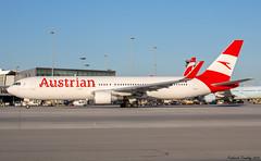 Austrian Airlines / Boeing 767-3Z9(ER) / OE-LAX / YUL (tremblayfrederick98) Tags: boeing boeing767 b767 yul austrianairlines