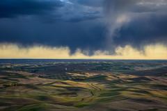 Ever-changing land and skies 3 (Richard McGuire) Tags: palouse steptoebutte us washington landscape skies sunset