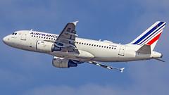 Air France Airbus A319 F-GRXM Munich (MUC/EDDM) (Aiel) Tags: airfrance airbus a319 fgrxm munich canon60d sigma60600