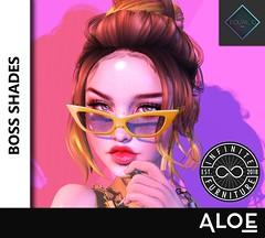 Boss Shades (Aloe [Alli Keys]) Tags: equal10 sl sunglasses avatar accessories shades fashion modeling aloe lighting second life