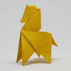 Origami Pferdchen (steffi's) Tags: origami littlehorse pferdchen rössli 折り紙
