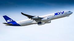Airbus A340-313 F-GLZK JOON (William Musculus) Tags: plane spotting aviation airplane airport paris charles de gaulle roissy roissyenfrance lfpg cdg fglzk joon airbus a340313 jn jon a340300 william musculus