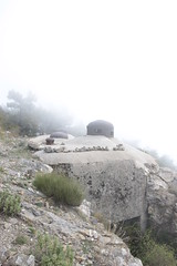 Dans les nuages ... (TomCombal) Tags: guerre maginot forteresse gun war fortification galerie festung tunnel light fortress france mercantour nuages brouillard fog foggy cloche casemate provence alpesmaritimes