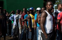 In Mexico, Africans on the road of migrants to the United States (prefnews1) Tags: african haitian migration refugees transit smugglers mexico chiapas