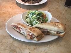 Cuban Sandwich with Caesar Salad (_BuBBy_) Tags: factory cheesecake salad caesar sandwich cuban