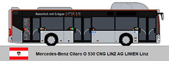 Mercedes-Benz Citaro O 530 CNG (MaxMeister11) Tags: österreich linz bus linien ag mercedes citaro cng